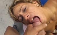 Phyllisha Anne sborrata in bocca